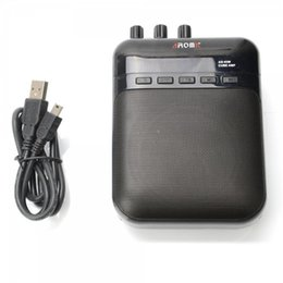 Chinese  AG-03M 5W Guitar Amp Recorder Speaker TF Card Slot Compact Portable Multifunction Guitar Amplifier+USB Data Line manufacturers