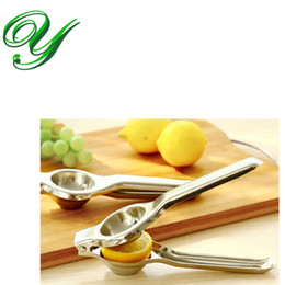 $enCountryForm.capitalKeyWord Canada - Stainless Steel Lemon Squeezer Press for Lime Orange Manual Fruits Juicer Good Grips Citrus Reamers Kitchen Toosl Gadgets box packing