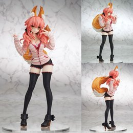 $enCountryForm.capitalKeyWord Canada - Tamamo no Mae cartoon Fate EXTRA CCC Caster common dress version Japanese sexy doll Caster with box model figure PVC T7302