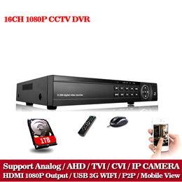 $enCountryForm.capitalKeyWord UK - LLNIVISION 16CH AHD DVR AHD TVI CVI HD 1080P Video Recorder H.264 CCTV Camera Onvif Network 16 Channel IP NVR Multi-language 1TB