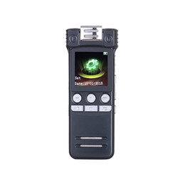 China Wholesale- 2016 New Professional High-definition Digital Voice Recorder Dictaphone With MP3 Player 1.5 Inch LED Screen Telephone Recording supplier 4gb digital voice telephone recorder suppliers