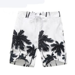 Boy Swim Clothes Canada - Summer Children Board Shorts Boys Casual Swimming Trunks Kids Clothing Fashion Style Quick Drying Liver Short Coconut Trees