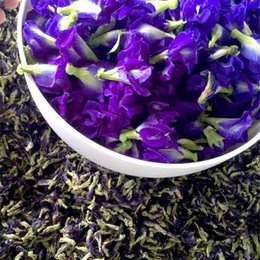 Orgânica Violeta Borboleta Pea 1000g Natural Dried Blue Butterfly Flower Tea Perfumado Wild Bean Blue Flower Tea