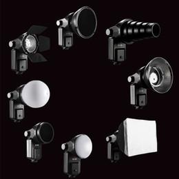 $enCountryForm.capitalKeyWord Canada - Wholesale-SETTO 9 in1 Flash Accessories Barndoor Snoot softbox Honeycomb Beauty disc  Diffuser mount for Speedlite Speedlight Flash Light