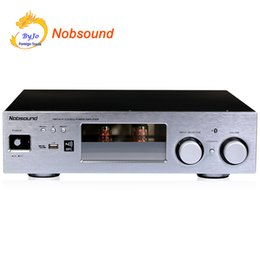 Wholesale Nobsound PM5 Hi-Fi Stereo Power Amplifier NFC Wireless Bluetooth Amplifier Support USB CD DVD 80W + 80W Power