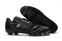 copa mundial soccer shoes 2019 - Copa Mundial FG Football Shoes Soccer Cleats Black Color Soccer Boots Mens Football Boots Size:39-45