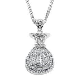 Herrenschmuck Preiswert Kaufen Herren Damen Lange Halskette Mode Riesiges Gold Metall Amerikaner Dollar $ Geld Uhren & Schmuck
