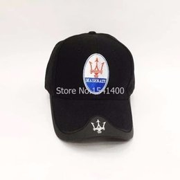 motorcycle ball caps NZ - Wholesale- new for men and women maserati baseball cap motorcycle embroidery VW caps casual hats