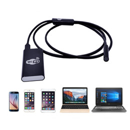 windows pc 2019 - 8mm HD 720P Wifi Wireless Endoscope with 1.5m Cable Borescope Waterproof Inspection Snake Camera for IOS Android Windows