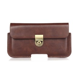 $enCountryForm.capitalKeyWord Canada - NEW 5.2~6.3'' Men PU Leather Waist Pack Vintage Hip Bum Belt Pouch Fanny Pack for Samsung S7 S6 S8 Plus Mega Case Bussiness Bag
