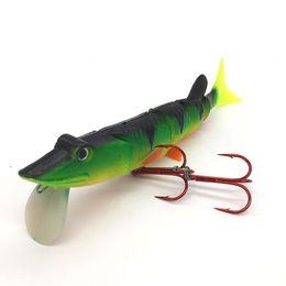 $enCountryForm.capitalKeyWord UK - Weiyu 25cm 3D Eyes Soft Fishing Lure Swim Bait with Double Hooks Fishing Tackle Jig Lead Fish Shape Fishing lures