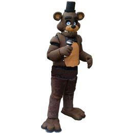 $enCountryForm.capitalKeyWord Canada - Five Nights at Freddy's FNAF Toy Creepy Freddy Fazbear Mascot Costumes Cartoon Character Adult Sz 100% Real Picture 002