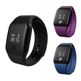 $enCountryForm.capitalKeyWord Canada - Wholesale- A88+ Smart Watch With Blood Oxygen Wristband Heart Rate Fitness Tracker Waterproof Capacitive touch screen Watch L3FE