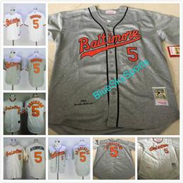 49c9d7c8c ... throwback brooks robinson jersey baltimore orioles b.robinson retro  baseball jerseys 5 Orioles 5 Brooks Robinson Orange 1975 ...