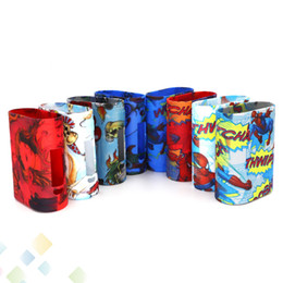 Chinese  Spiderman Case Istick Pico 25 Silicon Case Joker Fashion Design Bag Soft Silicone Sleeve Protective Cover Skin For Istick Pico 25 DHL Free manufacturers