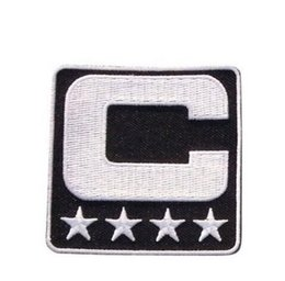 China Wholesale- 2017 Captain C Patch Iron or Sewing On for Jersey Football, Baseball. Soccer, Hockey, Lacrosse, Basketball cheap jersey c suppliers