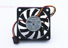 intel speed UK - EVERFLOW 6010 6CM 12V 0.20A R126010BH 3 wire speed ball fans