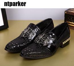 $enCountryForm.capitalKeyWord Canada - Top Fashion Japanese Style Handmade Man Shoes Genuine Leather Man's Dress Shoes Leather Man Business Rock, 45 46