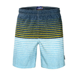 $enCountryForm.capitalKeyWord UK - Hot Men's Summer Board Shorts Surf Swimwear Twin Micro Fiber Beachwear Striped Printed Loose Beach Trunks For Outdoor Holiday