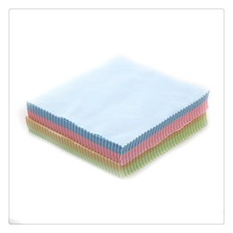 Wholesale Cleaning Cloths For LCD LED Tablet Phones Computer Jewelry Cleaners Polish Glasses Eyeglasses Wipes Dust Washing Cloth gsm Free DHL