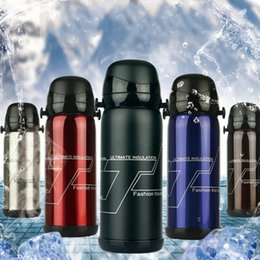 $enCountryForm.capitalKeyWord Canada - Thermal Insulation Kettle Outdoor Sports High Capacity Vacuum Thermos Bottle Portable Stainless Steel Double Cup Cover Sport Kettles 30dj E1