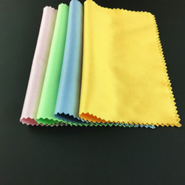 Wholesale High Quality Cleaning Cloth Eyeglasses Polish Microfiber Eyewear Glasses Phone Sunglasses Lens Tablet Camera Screen Cloth
