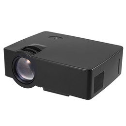 $enCountryForm.capitalKeyWord UK - Wholesale- New Arrival E08 LCD Projector 2500 Lumens 800 x 480 Pixels 1080P Home Theater Built-in Stereo Speaker Home Theater