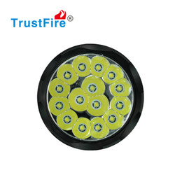 Flash Drive Battery NZ - 12 LED Flashlight Hard Light XM-L2 Torch 5 Modes 26650 Rechargeable Battery Super Bright 13000 lumens Tail Switch Flash Light Outdoor Sports