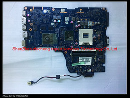 intel hm55 Australia - original for Toshiba Satellite A660 A665 laptop K000106380 NWQAA LA-6062P HM55 DDR3 512M Non-integrated motherboard ,fully tested