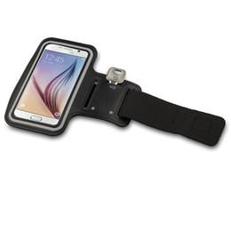 Para Iphone 6 Samsung S6 S7 deportes a prueba de agua funda para correr brazalete bolsa para correr brazalete de entrenamiento Holder Pounch brazo bolsa banda