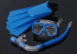 $enCountryForm.capitalKeyWord Canada - Wholesale-Swimming Gear Scuba Anti-Fog Goggles Diving mask flippers Diving Glasses Snorkel spearfishing diving equipment mask to swim
