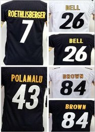 cf40c4614a8 ... Youth Top quality jersey 26 LeVeon Bell Jersey 7 Ben Roethlisberger 43  Troy Polamalu 84 Antonio ...