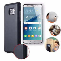 Discount tpu case for nano - Anti Gravity Case for Samsung Galaxy S6 S7 Edge Plus S8 S9 Note 8 Magical Nano Suction Selfie Case for iPhone 6 6S 7 7 P