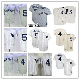836d54f22 ... Newest-Mens New York Yankees Joe DiMaggio grey wool 1939 Throwback  Jersey Stitched Joe DiMaggio .