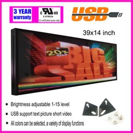 Electronics Signs UK - P5 indoor full color LED display rolling information electronic display advertising signs Store window display