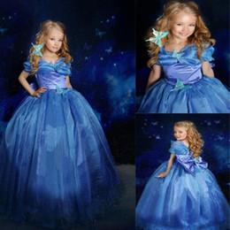 $enCountryForm.capitalKeyWord NZ - Baby girls Cinderella Princess dresses clothes girls cartoon skirt girl cosplay costume children cosplay clothing CSZ012