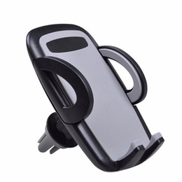 Discount car accessories gps holders - Wholesale- car Mobile Cell Phone Car Holder Smartphone Auto Gps Accessory Mount Stand Air Vent Phone Holder for iPhone 5