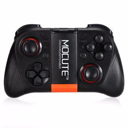 $enCountryForm.capitalKeyWord NZ - Original MOCUTE 050 Wireless Bluetooth Gamepad PC Game Controller for Smartphone TV Box With Built-in Foldalbe Holder Joystick