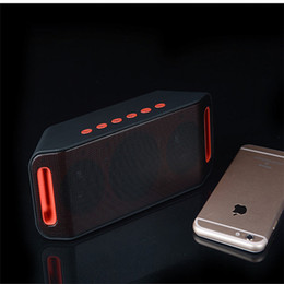 $enCountryForm.capitalKeyWord Australia - High-end Quality S204 Wireless Speaker Mini Portable Outdoor Card FM Radio Audio High Power Dual Subwoofer Speaker Good Sounds