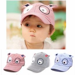 Casquette De Baseball Béret Pour Enfants Pas Cher-Vente en gros: Delicate Hot! Fashion Kids Summer Kids Boys Girls Cute Cartoon Dog Beret Hat Sun Hat Baseball Cap Ju2 en gros