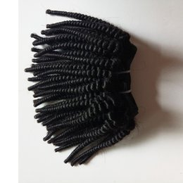 $enCountryForm.capitalKeyWord NZ - Black woman Unprocessed Brazilian Virgin hair Afro Kinky Curly best quality durable Indian remy Hair For Sale Factory Price 50g pc 300g lot