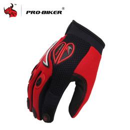 $enCountryForm.capitalKeyWord NZ - Wholesale- PRO-BIKER Full Finger Motorcycle gridding Gloves red Outdoor Sport Racing Motorbike Motocross Protective Gear Breathable Glove