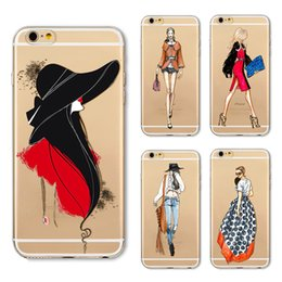 $enCountryForm.capitalKeyWord Canada - Cell Phone Accessories Cases 2018 fashion Geometry Painting Fashion Girl Pattern Effect Case Cover Defender For iPhone 5S 6 6s plus 7 7Plus