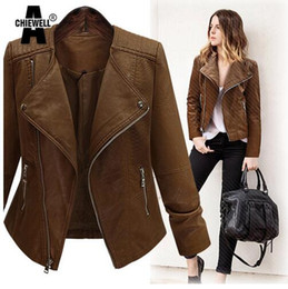 Discount Dark Brown Leather Jacket Women | 2017 Dark Brown Leather ...
