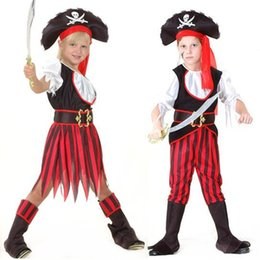 $enCountryForm.capitalKeyWord UK - 2017 New Boys Girls Pirate Costume Caribbean Pirates Costume Kids Halloween Carnival Costumes Fancy Dress Party Decoration