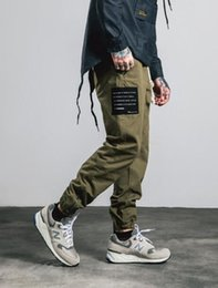 $enCountryForm.capitalKeyWord Canada - INF Mens | Fall and winter patch photo Trousers legs zipper design Bib leg pants with men's casual pants