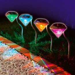 Discount color changing outdoor christmas lights color changing color changing outdoor christmas lights 2018 new led solar outdoor light for garden decoration diamond aloadofball Images