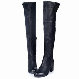 $enCountryForm.capitalKeyWord Canada - 2017 Euramerican Winter New Style Add Wool Over-The-Knee Boots Top Quality Look Thin Side Zipper Knight Boots