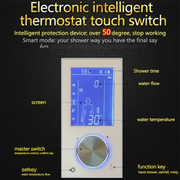 Hm Digital Valve Shower Controller 3 Ways LED Touch Screen Control  Thermostat Display LCD Smart Power Outlet Is Compatible Affordable Digital  Shower ...