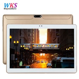 $enCountryForm.capitalKeyWord NZ - Wholesale- 10 inch 3G Lte Tablet PC Octa Core 4GB RAM 64GB ROM 1280*800 IPS Dual Cameras GPS 5.0MP Android 5.1 Tablet 10.1 inch+Gifts